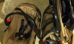 Bought from Costco in 2009. Car seat was used with two kids (6mo each they were big babies!) and stroller was only used with my first. In great condition, car seat does not expire until 2014. Also has easy adjust system for tightening straps and manuals