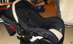 Safety First Infant Car Seat with Matching Jogging Stroller.Excellent condition.  Just showing a pic of the car seat as the stroller is in storage.