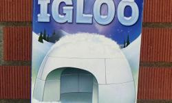 For Sale: Scholastic Make Your Own Igloo Kit. Not sure if it has been used. Clean. Comes with 2 ice trays and a 16 page booklet. Comes from a smoke free environment. Located in the west end of the city - near Ikea. Local pick up only. $6