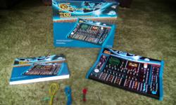 """Fully illustrated manual makes projects easy to assemble. Learn how electronic circuits operate, build your own radio, electronic games and much more. Solderless connections make it safe and easy to use. Requires 6 """"AA"""" batteries. Click on """"View seller's"""