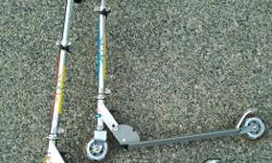 I have 2 like new scooters for sale. $15 each