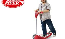 "Radio Flyer 535 ""My 1st Scooter"" for Sale. Used but in good condition. Below is info from the manufacture... Perfect for beginner riders, the My 1st Scooter is designed to help develop balance and coordination. Features an extra-wide base and two wheels"