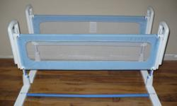 "I have 2 of these rails. $30 each. In excellent condition. Fits mattresses 5""-10""thick.  Very sturdy and secure."