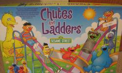almost brand new only used once. Sesame Street Chutes and Ladders game. ages 3+.