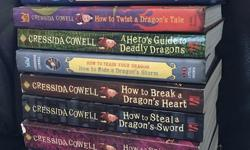 I have the set of How to Train Your Dragon books except #2. There are 11 books in total. A mix of hard and soft covers. Paid $125 retail. Asking $75 OBO. Pickup in Nanaimo, Westwood Lake area.