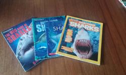 Set of 4 shark facts books in excellent condition. Lots of other books for sale...see my other ads. Thanks for looking!