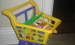 Fun for boys and girls. Ages 1 & up.. Get the cart and some food for $5 Pet and smoke free home Pls check out my other Ads