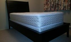 Almost new single bed..used for 3 weeks,bought new 1400 three yrs ago euc.