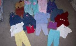 Size 24 Month Girls Clothes Each picture is $28.00. Also 3 piece Outfit with hat is $9.00 Clothes are in great condition Please see my other ads for more sizes. Smoke Free Home