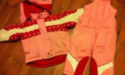 Asking $10 will throw in size 7 pink boots for an extra $5. So $15 gets your little girl all ready for the cold :) why pay $150 for new suit and boots when you can get one for a fraction of the cost ! This ad was posted with the Kijiji Classifieds app.
