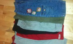 I have over 30 size 3T pants. Lots of Gap, Miniman, Old Navy, etc... All stain free, smoke free home. $2 each, $ 3 for jeans Please message me if you are interested. Delivery can be arranged. This ad was posted with the Kijiji Classifieds app.