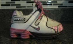 Infant size 4 Nike Shox, excellant condition from a smoke/pet free home.Asking $25 OBO