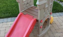 Little tikes slide. Great condition.