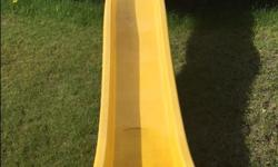 10 foot yellow wave slide. In good condition.