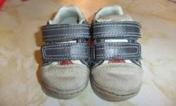 Baby sneakers size 3. Very cute and easy to get on. Velcro straps. Asking $3.00 obo
