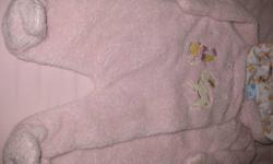 Disney  Pink Fleece Snowsuit