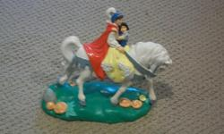 """FOR SALE-----""""SPECIAL EDITION"""" FROM WALT DISNEY'S SNOW WHITE & THE SEVEN DWARFS COLLECTION IN VERY GOOD CONDITION-----4 INCHES TALL X 6 INCHES WIDE ASKING ONLY $20.00"""