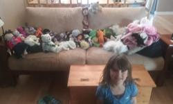 Come visit my store! Large selection of stuffies big and small. Open Sundays from 1:30-3:30. Small stuffies $1.00 Large stuffing $2.00 Please come by 824 Leslie Drive Girl Guide on sale too $5