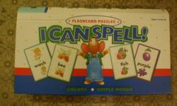 This is a brand new box set, never used! I received it as a gift but my son can already spell all of these words!