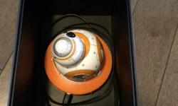 This is the droid you're looking for. Meet BB-8, the app-enabled droid whose movements and personality are as authentic as they are advanced. Based on your interactions, BB-8 will show a range of expressions and perk up when you give voice commands. Watch