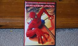 Spiderman I and II on DVD.  In great condition! $5
