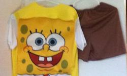 Spongebob - cute costume that comes with shorts. like new Serious inquiries leave number & I?ll call you ASAP.