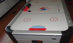 4 year old full size SportCraft 90? Air Hockey Table.  Paid over $600 for this a few years ago.  In very good condition.  $100. Selling because we don't use anymore. Great for any rec room. Table has all 4 paddles and pucks.