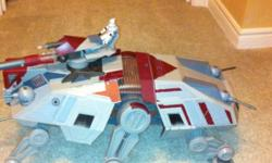 This was bought for over $100 for my son but he rarely touched it. Hoping some other little boy might get some enjoyment out of it. Includes all pieces that came with it. Even have box it came in. Please email with any questions you may have. *** Please