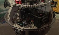 STAR WARS LEGO Death Star & Millennium Falcon No damage Played with condition *we recently renovated our entire home so the Lego is dusty* Lots of figures and extra assorted pieces First come ~ First buy only (no holds) Cash only My home is clean & has