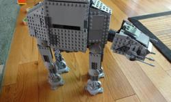 Star Wars Lego set 8129 - The AT-AT Walker, which is a retired set now. The model is complete and assembled. The set contains 1137 lego pieces and all included. There is two instruction booklets available with this set. The lego is very clean, no dust and