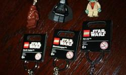 Check these out - these are not knock offs, they aren't from a far away Country with questionably low prices and free shipping.  Official Lego stuff for the kid's stockings that you probably won't find in stores this close to Christmas.....especially