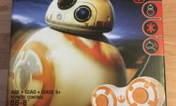 Star Wars The Force Awakens BB-8 RC. Brand New in Box never opened still sealed. $70 text if interested 250-884-8351
