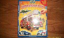 Super sticker book. never used. comes form a pet free and smoke free home. nice gift for xmas! $4.00 pick up only (check out my other ads)