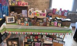 New pictures from recent orders...... Christmas is coming so think of words like peace, joy, or snow for your own home or as a gift. Or...school has begun and a very unique gift for teachers would be their name in wooden blocks or a special 'teacher' word