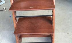 I have 3 chairs for sale each asking 165$ awesome condition. The chair that grows with the child. The Tripp Trapp is an ingenious highchair that revolutionised the children's chair category back in 1972 when it was first launched. It is designed to fit