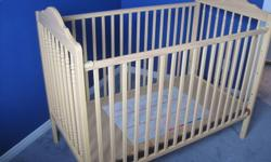 STORK CRAFT CRIB EXCELLENT , SAFETY LOCKS INCLUDED.   $80.00   PLEASE CALL WAYNE 905-691-6889   TAMMY 519-856-9347