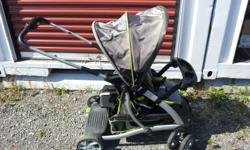 It's a nice front and rear facing stroller, for infant and toddler and up to 6yr old