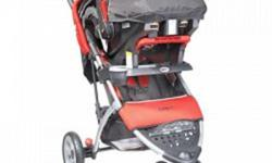 3-wheel design for superior maneuverability around corners Plush padding for extra comfort Durable fabrics Parent organizer with two cup holders Child tray with cup holder Adjustable canopy with window One hand fold and stand 5-point adjustable harness