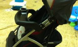 For sale a safety first stroller, in great shape. Very lightweight and easy to fold. The handle bar has a very small piece of the foam off, but otherwise it's a great stroller! This ad was posted with the Kijiji Classifieds app.