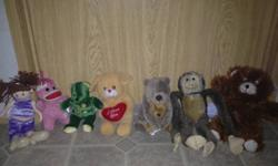 Used freshly cleaned toys! $2.00 each *All animals for $15.00*