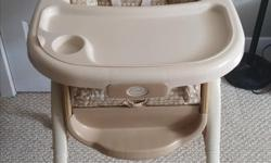 I am selling a Summer Brand High Chair and Bassinet either as a pair or separately. Both items are VERY mildly used and are in excellent working condition. $150.00 for the pair $125.00 for the high chair alone $35.00 for the bassinet alone