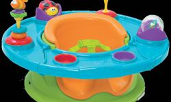 SuperSeat® from Summer Infant offers 360 degrees of floor time activity fun & booster in one. It?s a secure and comfortable area for your growing infant to learn to sit up and interact with the environment around them. With the Summer Infant SuperSeat®,