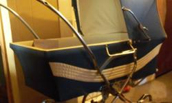 Swan English Pram Approx. 25 years old in excellent condition. Mild surface rust on some spots of the chrome. $200.00 firm