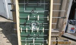 Table top Foosball table, in very good condition. 20.00 Message or call (902) 842-1580