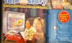 NEW in the package for 3up 2 complete stories SpongeBob Squarepants ice- cream dreams stop the press requires 4 AA alkaline Batteries - not included you can change TV hour into Reading power easy to use nothing to program just plug and read non smoking