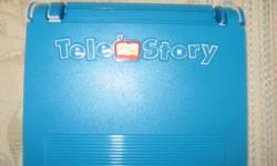 FOR AGES 3 AND UP. Young readers (and readers-in-waiting) will enjoy supplementing their regular storytime with the TeleStory Console. This simple system allows kids to insert a Dora the Explorer cartridge into the console , and start following along as