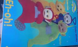 Teletubbies laminated poster from England