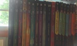 I have 17 books from the 39 clues series for $75. All 11 from the first series and all 6 from the second one.