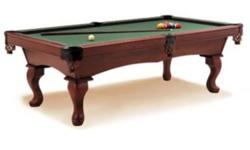 When aware of the costs and risks associated with purchasing a used pool table, your chances of an overall good deal improve greatly.  Trust Recreation World's nearly 50 years of experience with the finest products in the industry...our factory-trained