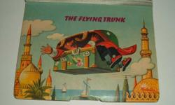 The Flying Trunk by Pop up / moveable book vkubasta on front of book Bancroft & Co (Publishers) Ltd. Westminster London S.W. I. An Artia production Printed in Czechoslovakia